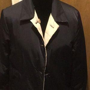 Calvin Klein reversible coat